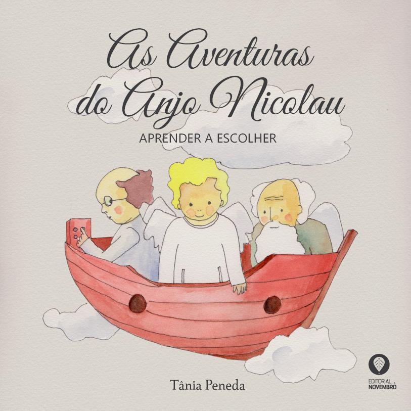 """""""As Aventuras do Anjo Nicolau"""" nas livrarias em Maio"""