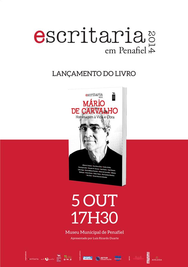 """Lançamento do livro """"Mário de Carvalho – Vida e Obra"""", na Escritaria 2014 em Penafiel"""
