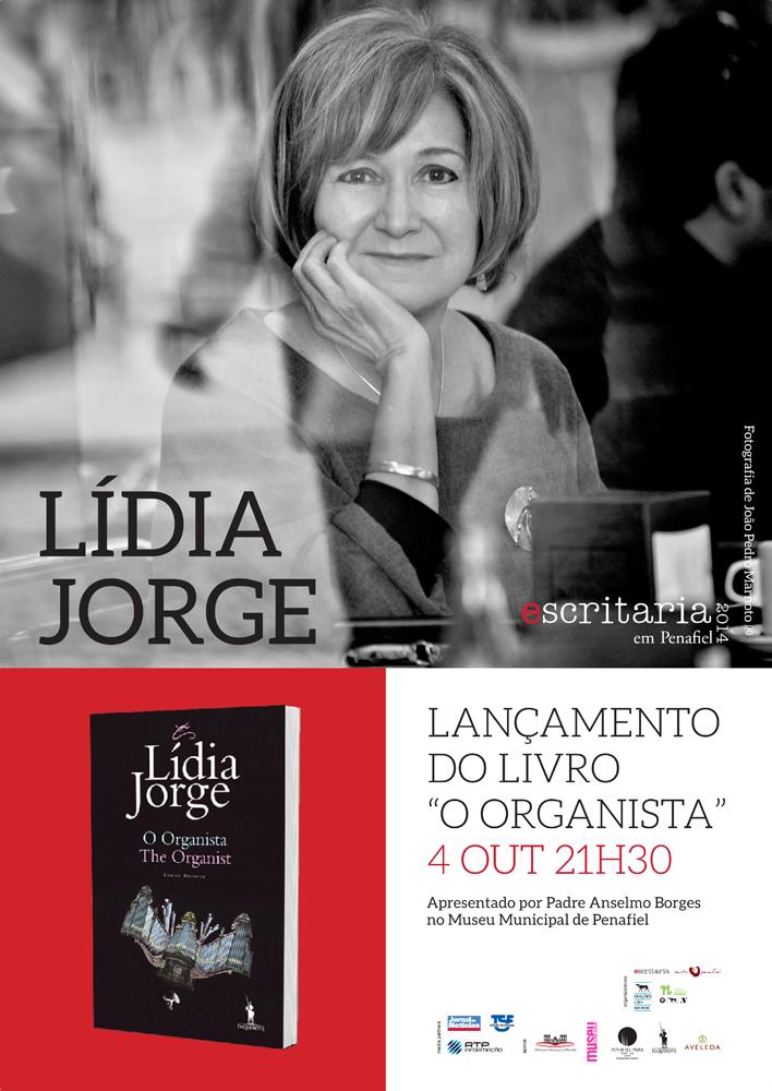 """Lançamento do livro """"O Organista"""", de Lídia Jorge, na Escritaria 2014 em Penafiel"""