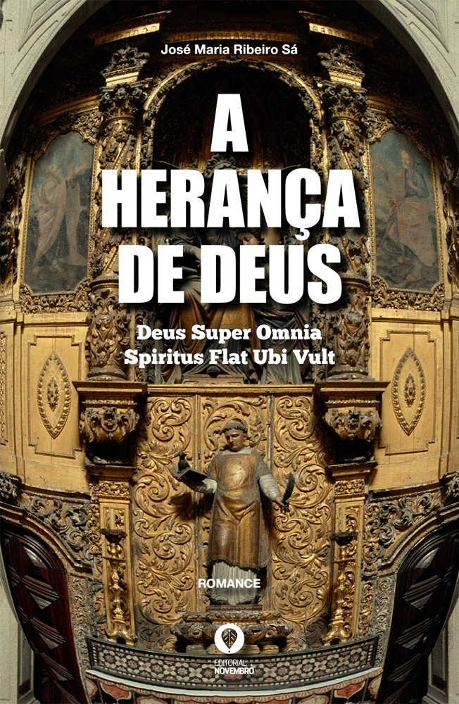 """Lançamento do livro """"A Herança de Deus"""", de José Maria Ribeiro Sá"""