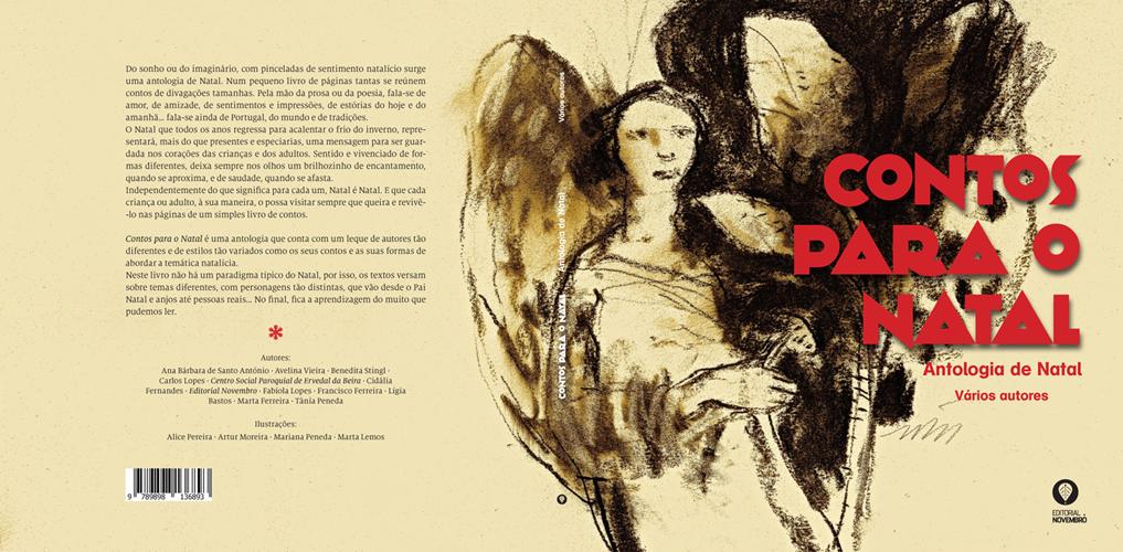 Lançamento da antologia de Natal do Grupo de Comunicação Novembro, na Bertrand Dolce Vita, Antas, dia 29 de novembro, às 17h00