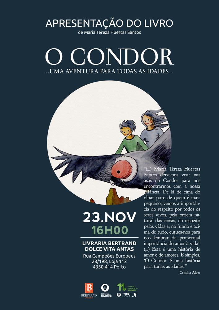 """Lançamento do livro """"O Condor"""", de Maria Tereza Huertas"""