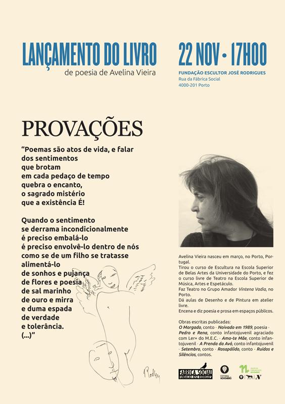 """Lançamento do livro """"Provações"""", de Avelina Vieira"""