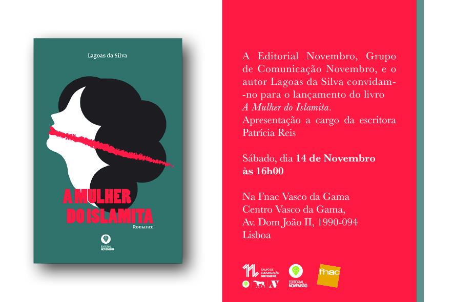 """Lançamento do livro """"A Mulher do Islamita"""", de Lagoas da Silva"""