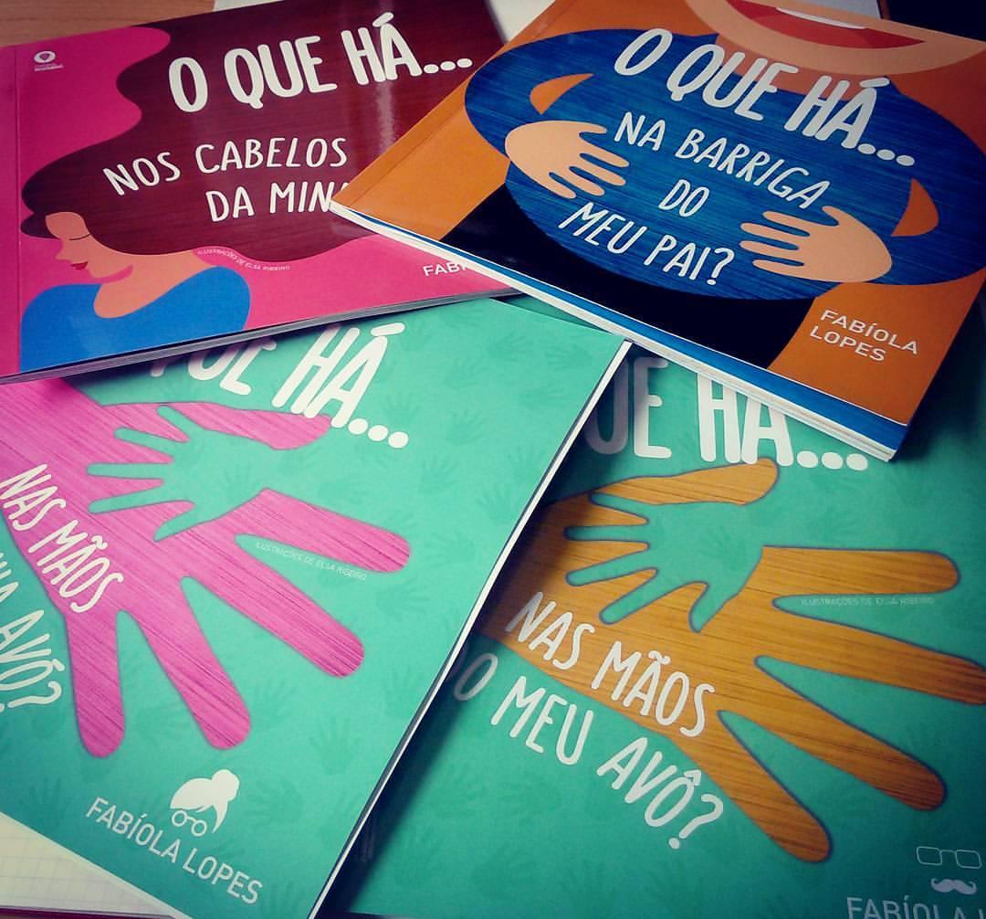 """Coleção """"O que há…"""", de Fabíola Lopes"""