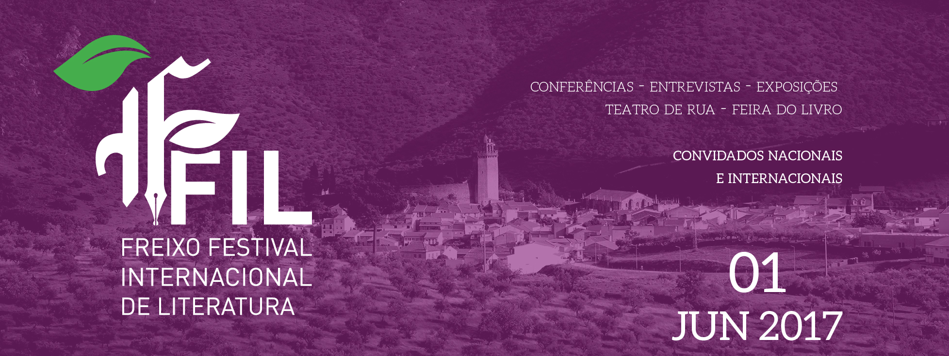 FFIL_ Freixo Festival Internacional de Literatura – Dia 1 de junho