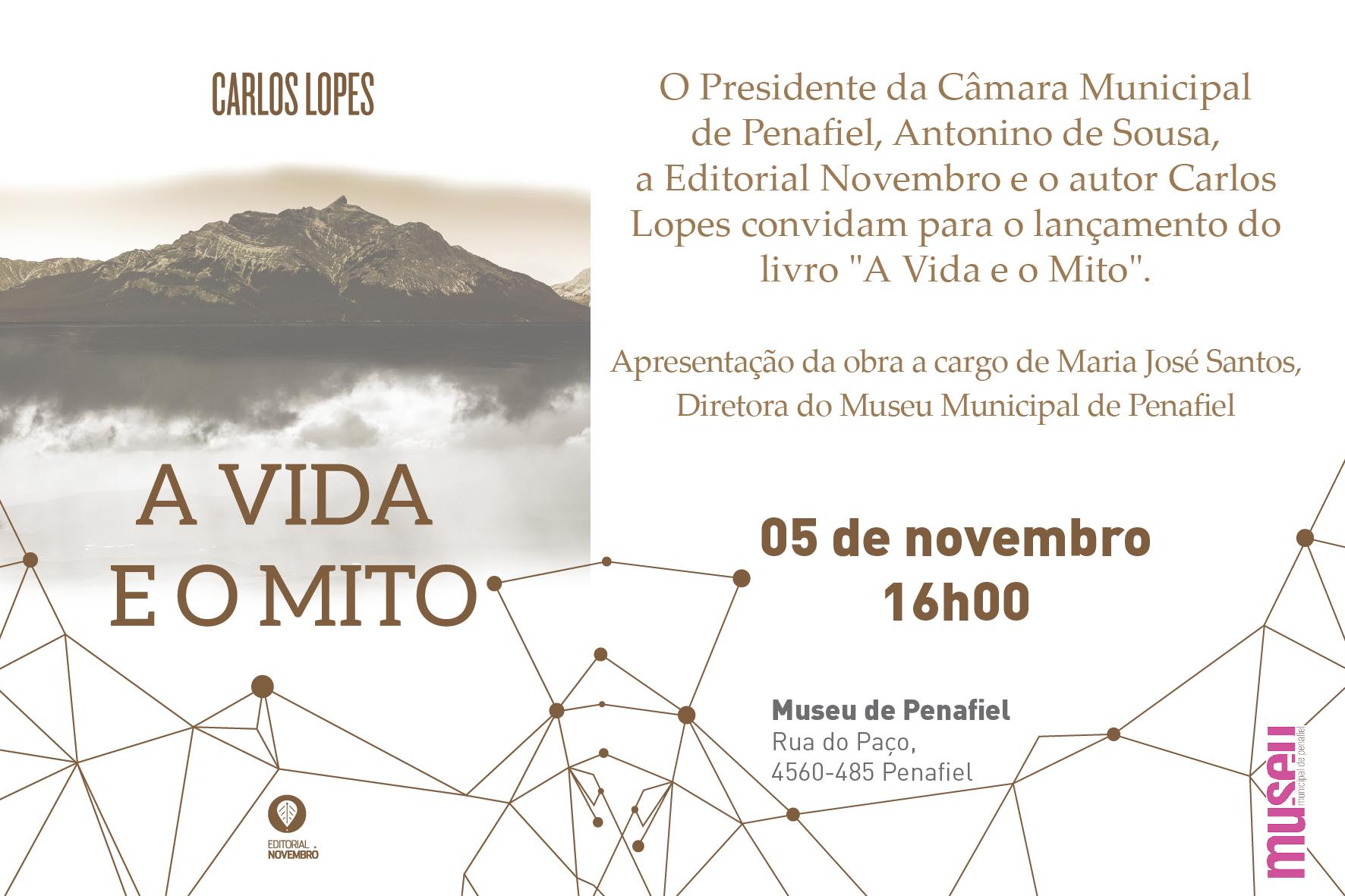 """Lançamento do livro """"A Vida e o Mito"""""""
