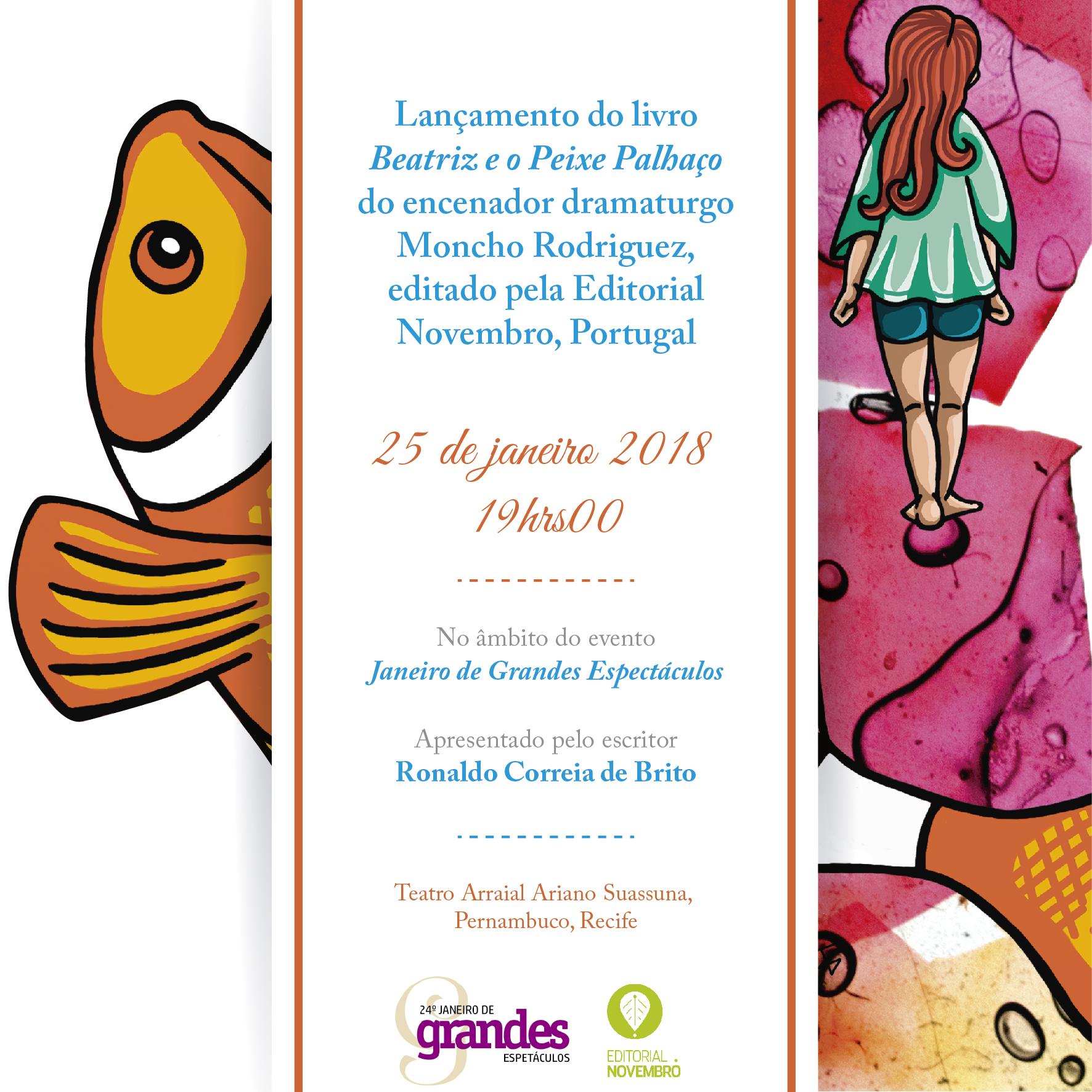 """""""Beatriz e o peixe palhaço"""""""