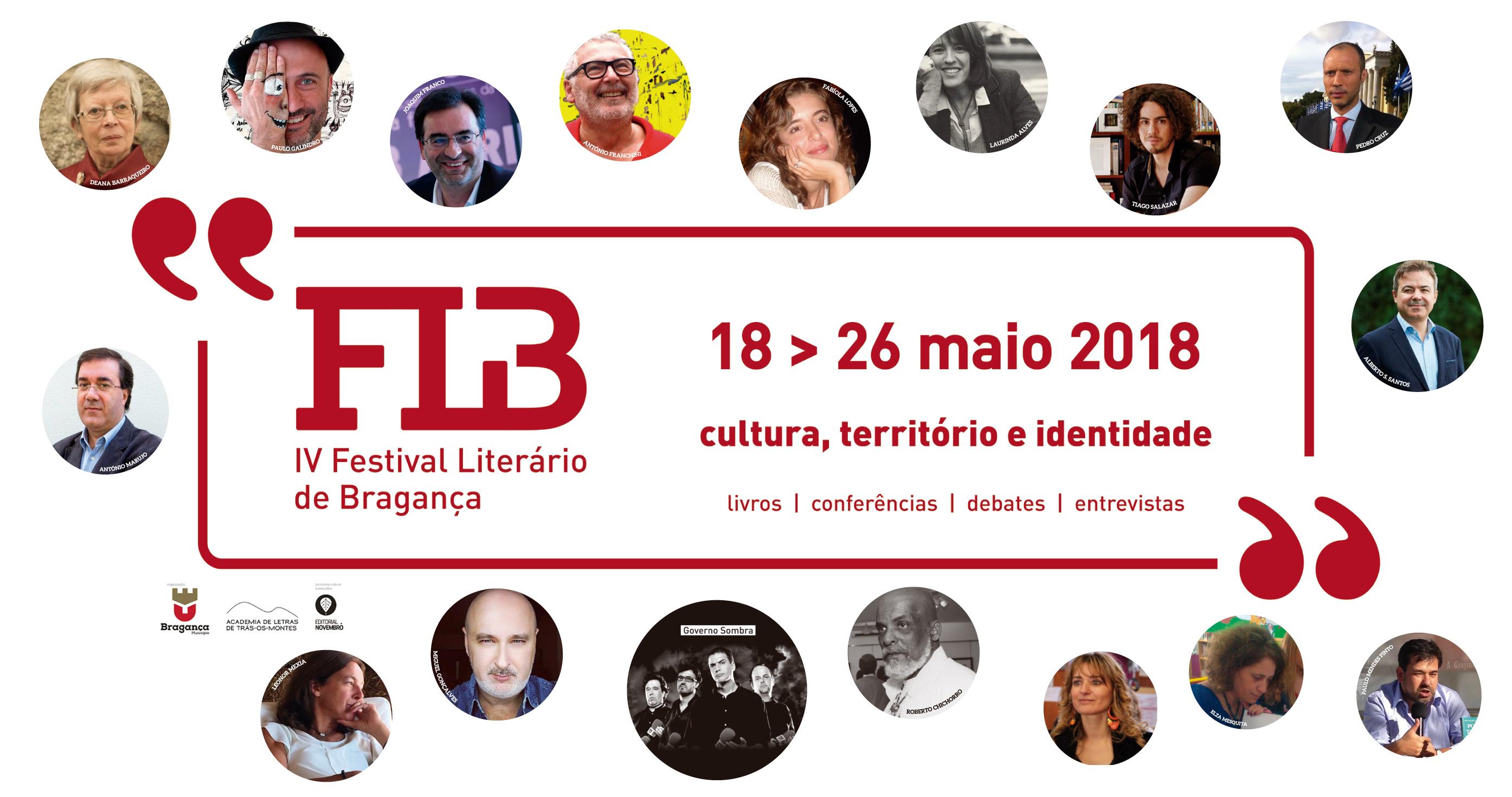 IV Festival Literário de Bragança