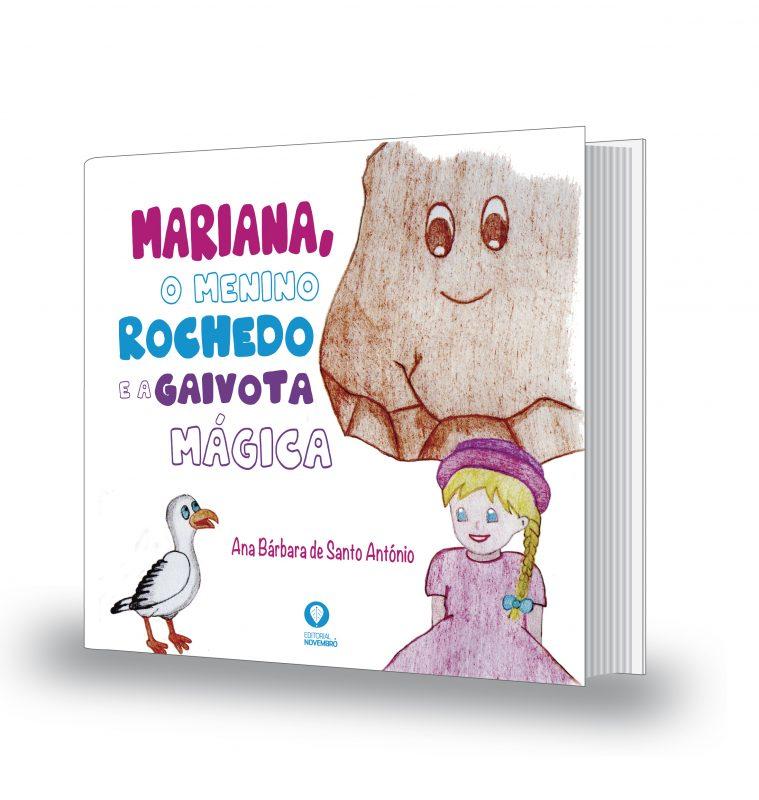 Mariana, o Menino Rochedo e a Gaivota Mágica