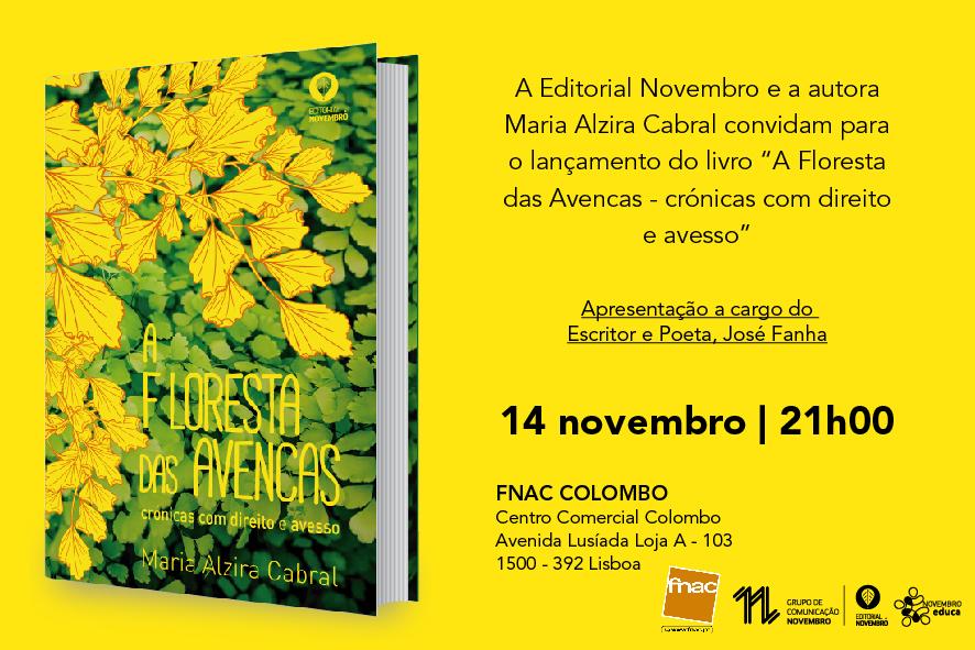 """Lançamento do livro """"A Floresta das Avencas – Crónicas com Direito e Avesso"""""""