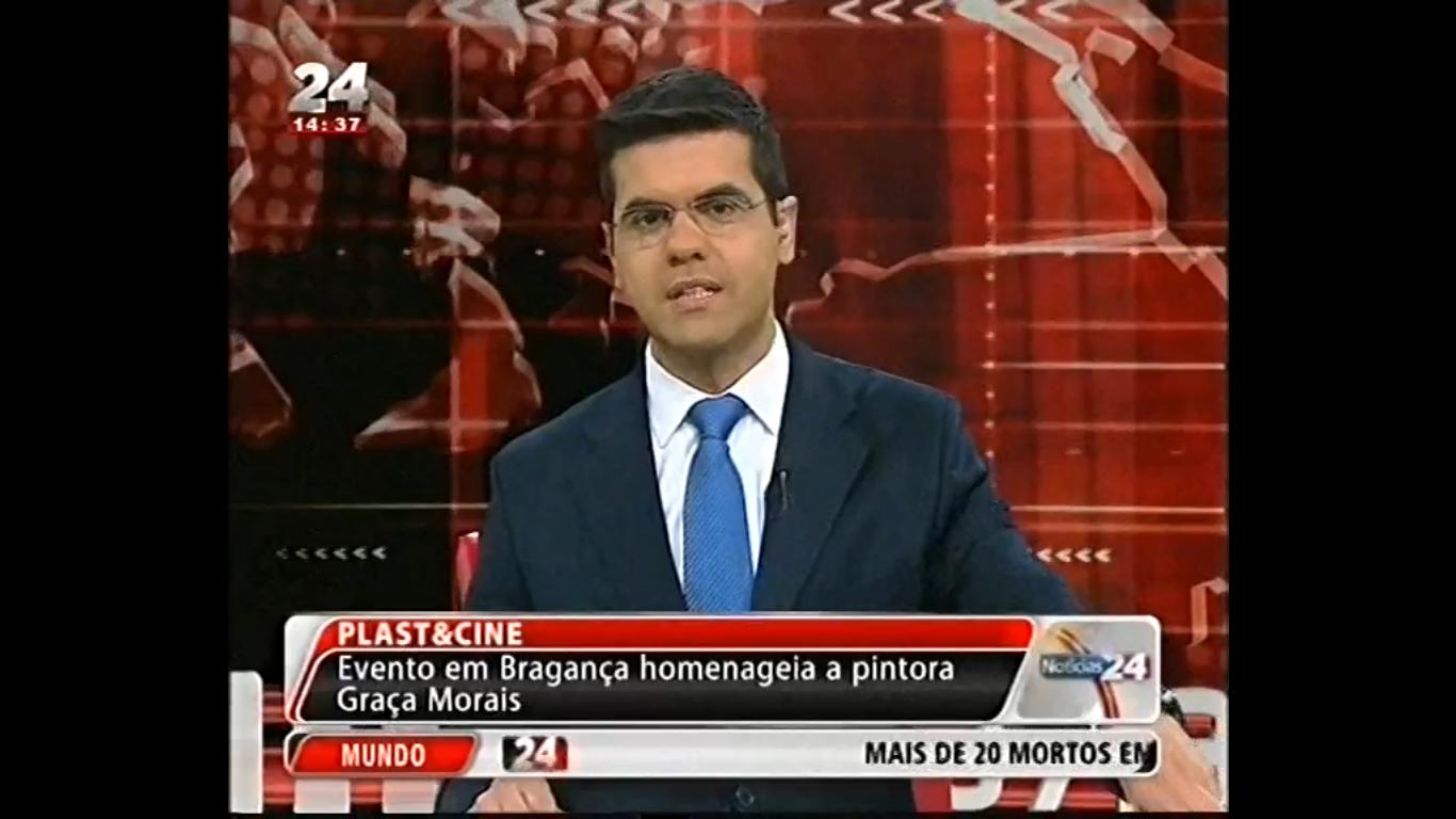 Plast&Cine: Evento em Bragança homenageia a pintora Graça Morais – TVI 24