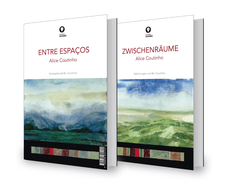 ENTRE ESPAÇOS, Poesia, Alice Coutinho, uma edição PT/D