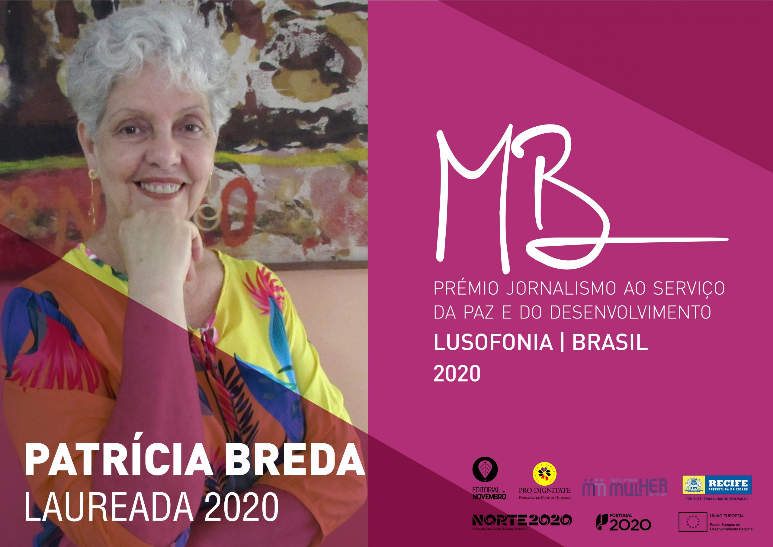 Prémio MARIA BARROSO, PRÉMIO JORNALISMO AO SERVIÇO DA PAZ E DO DESENVOLVIMENTO.